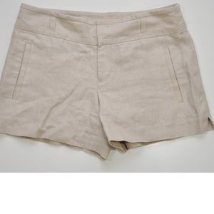 Anthropologie Cartonnier Shimmer Shorts Size 10